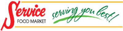 A theme logo of Service Food Market